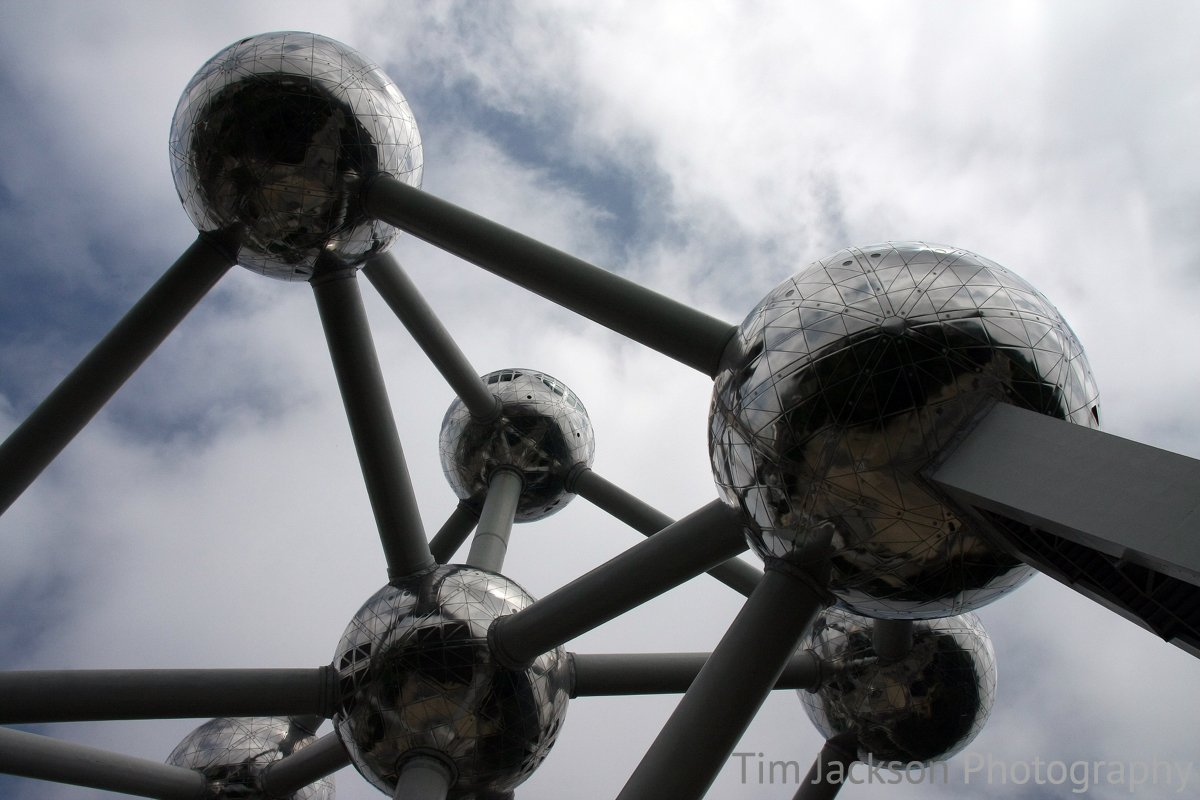 Atomium Abstract Photograph by Tim Jackson