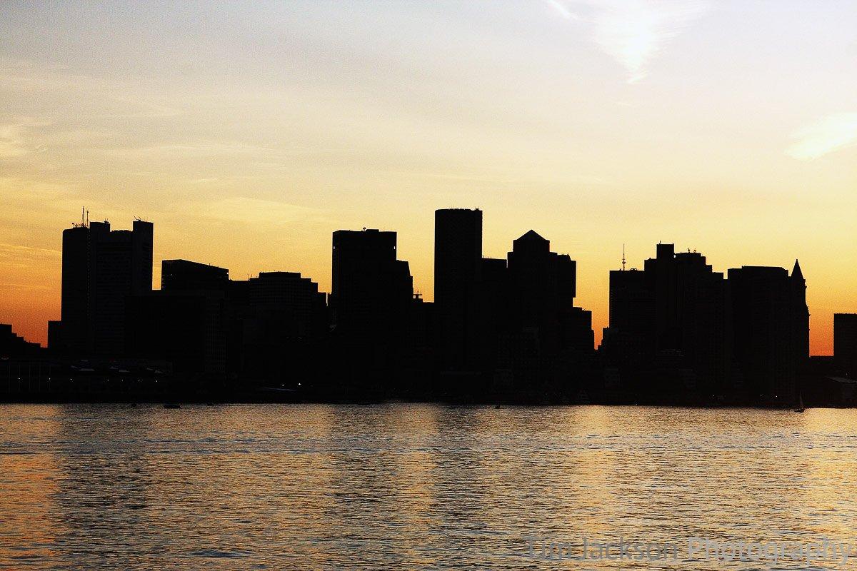 Boston Skyline Photograph by Tim Jackson