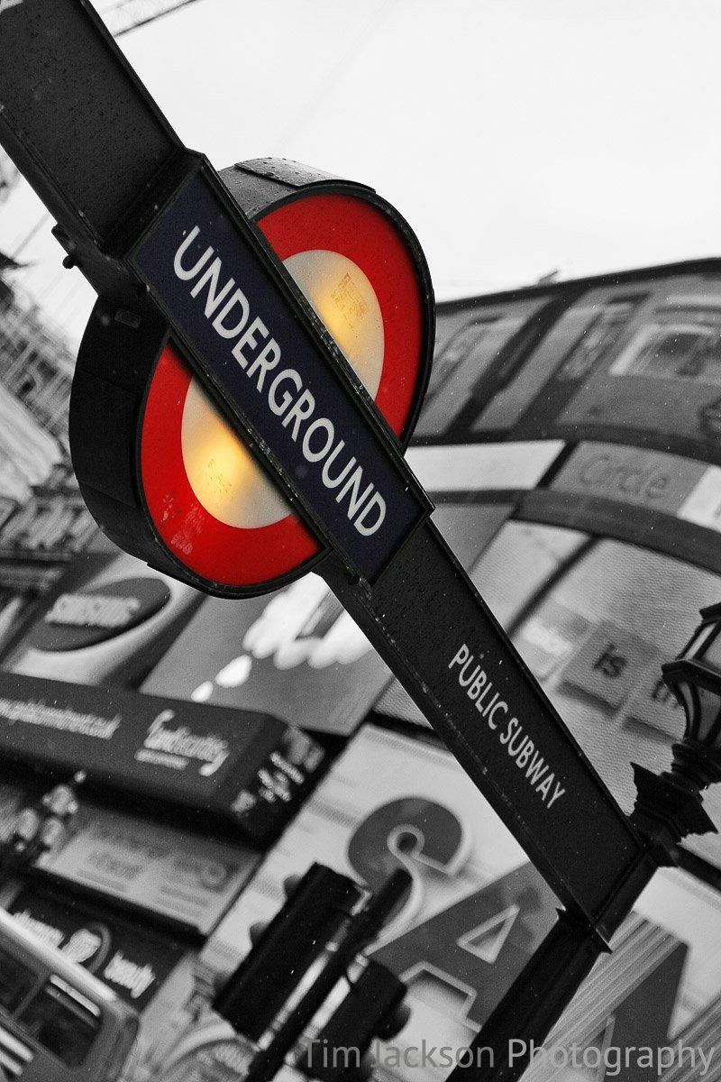 London Underground Photograph by Tim Jackson