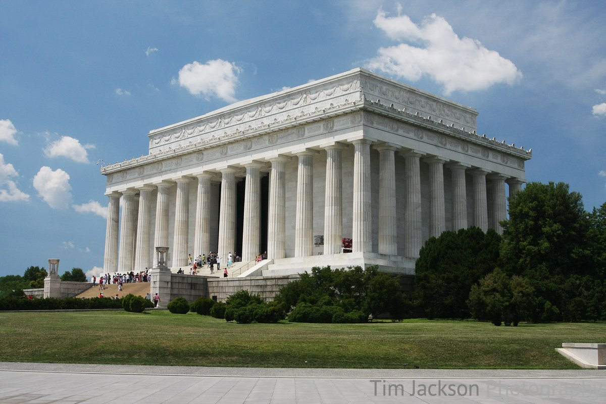 The Lincoln Memorial Photograph by Tim Jackson