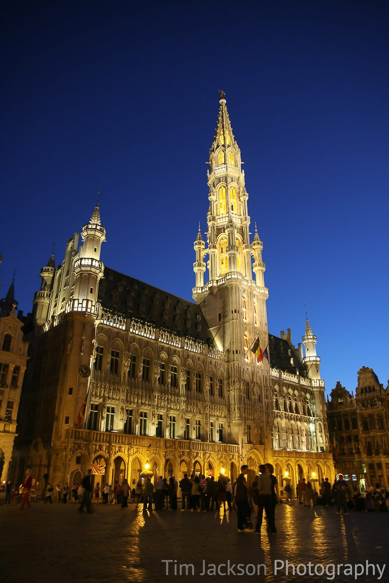 Town Hall in Grand Place Photograph by Tim Jackson