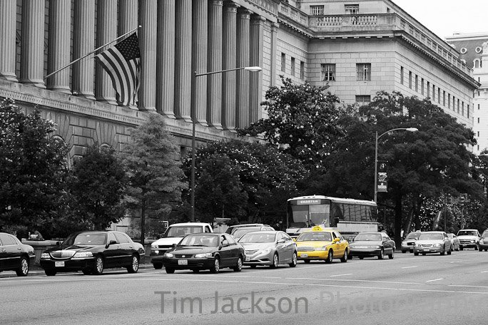 Yellow Cab Photograph by Tim Jackson