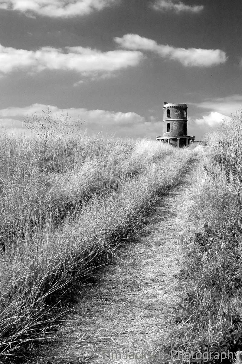 Path to Clavell Tower Photograph by Tim Jackson