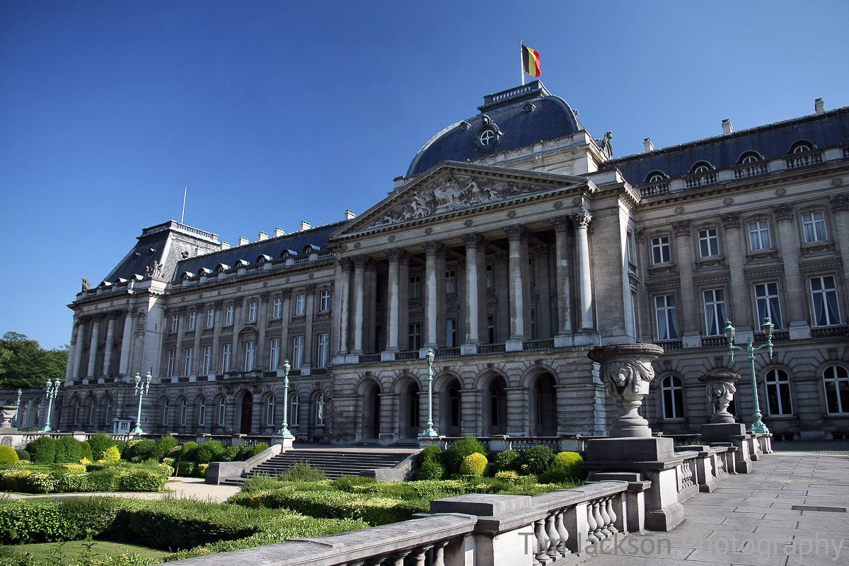 Royal Palace of Brussels Photograph by Tim Jackson