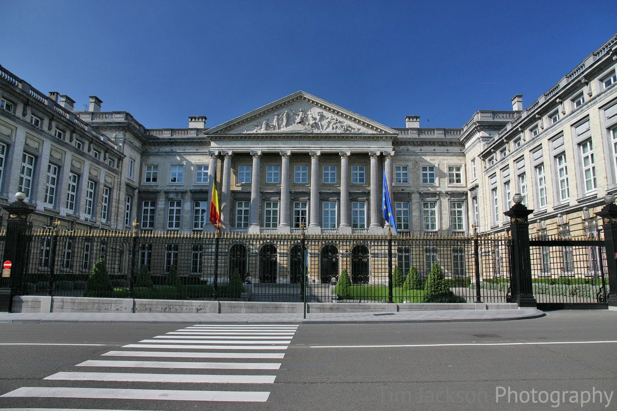 Belgium Federal Parliament Photograph by Tim Jackson