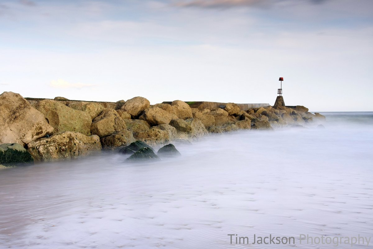 Ethereal Ocean Photograph by Tim Jackson