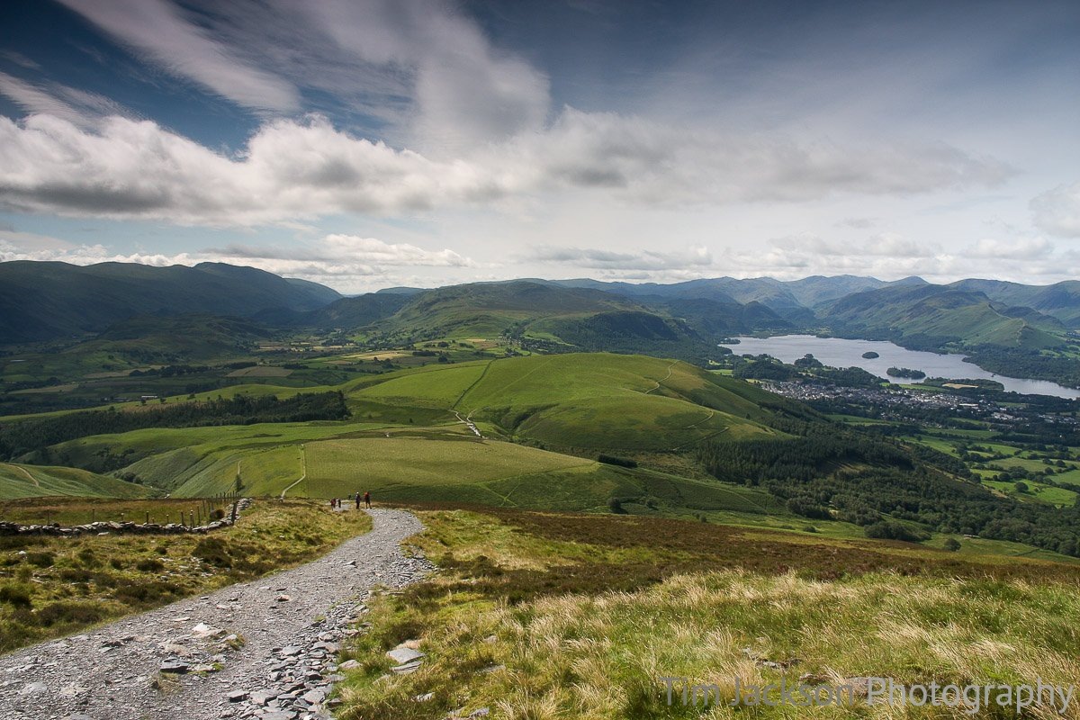 Trip to Keswick, Lake District View from Jenkin Hill Photograph by Tim Jackson