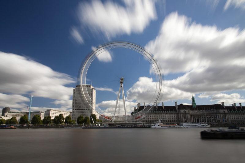 Long Exposure London Eye