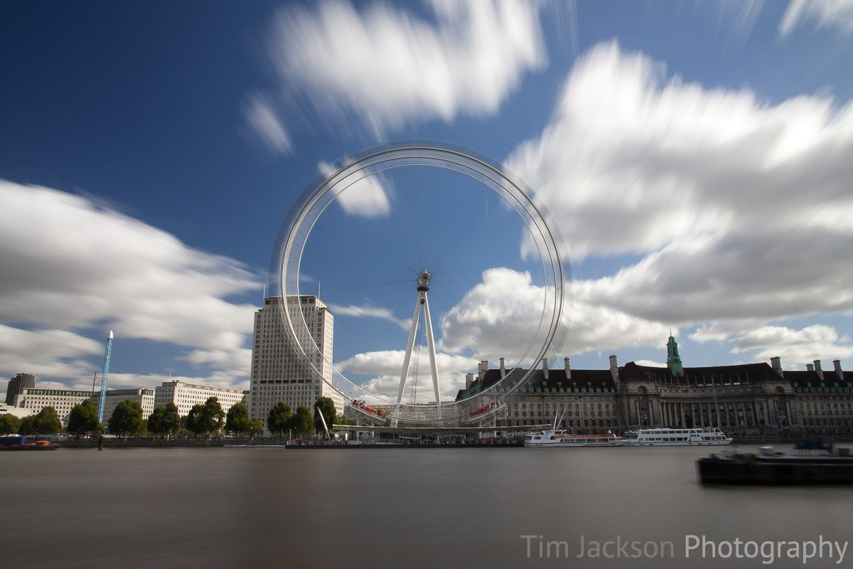 London Eye Photograph by Tim Jackson
