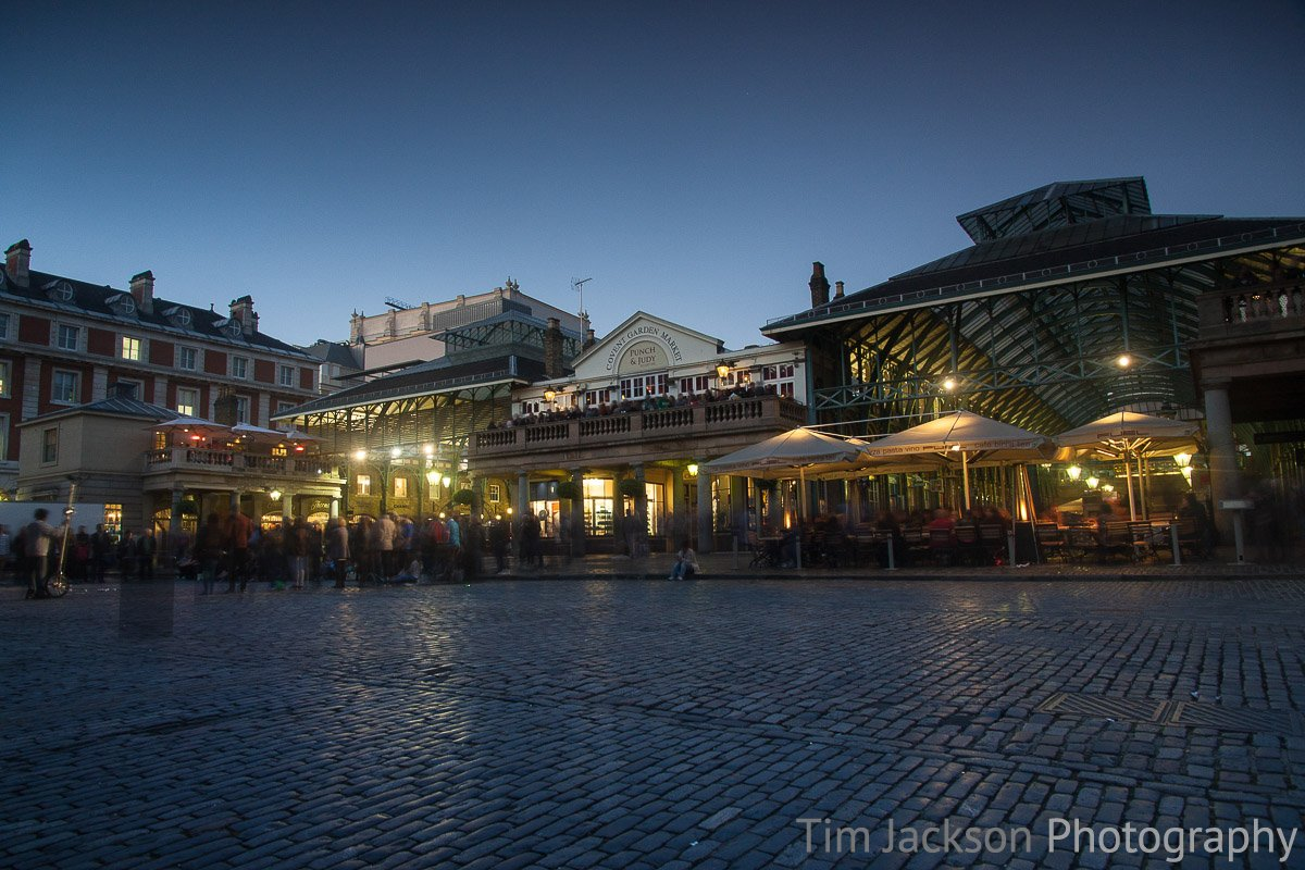 Covent Garden at Dusk Photograph by Tim Jackson