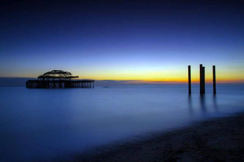 Brighton Pier at Last Light