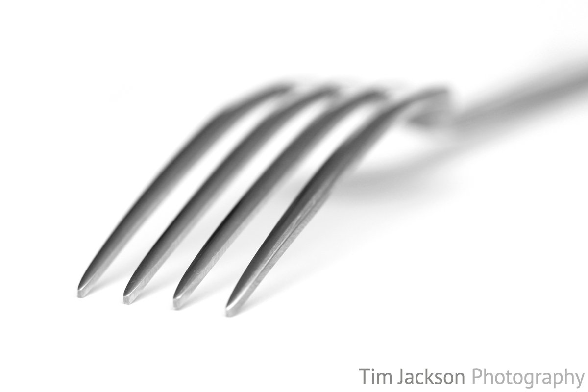 To The Point Abstract Image of a Fork