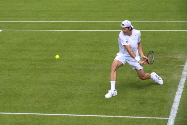 Wimbledon 2013 - Day 2 - Court 2 Haas Photograph by Tim Jackson
