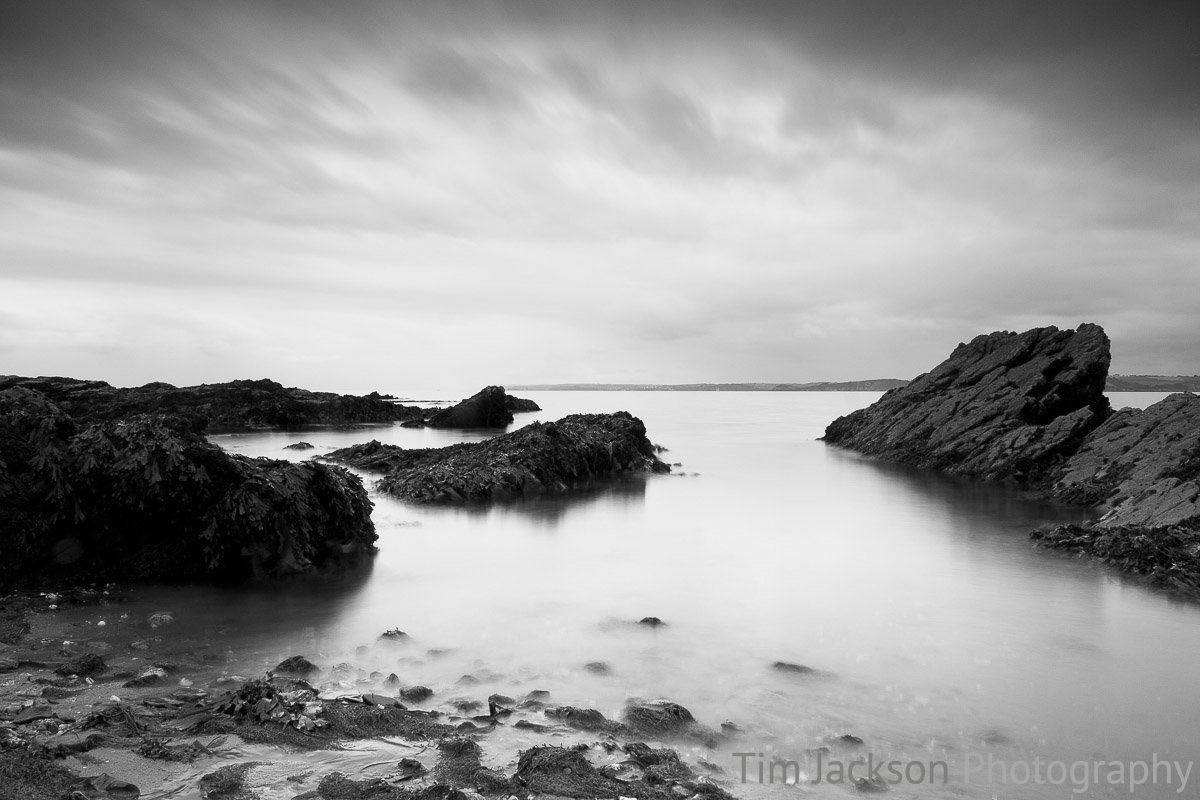 Polkerris Coast Photograph by Tim Jackson