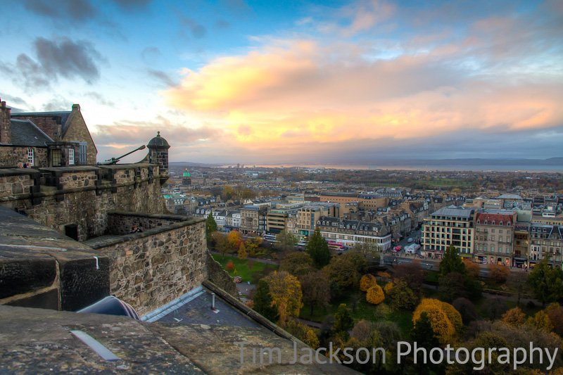 View from Edinburgh Castle Photograph by Tim Jackson
