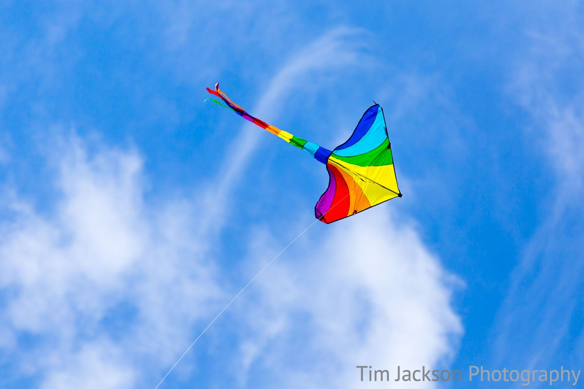K is for Kite - Flying high :-)
