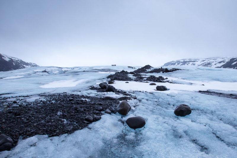 Glacier Hike Glacier Hike Photograph by Tim Jackson