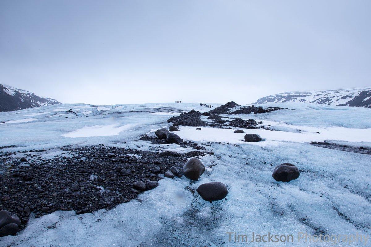Iceland Trip Glacier Hike Photograph by Tim Jackson