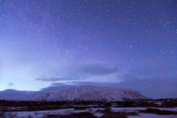 Iceland Trip Icelandic Starscape Photograph by Tim Jackson