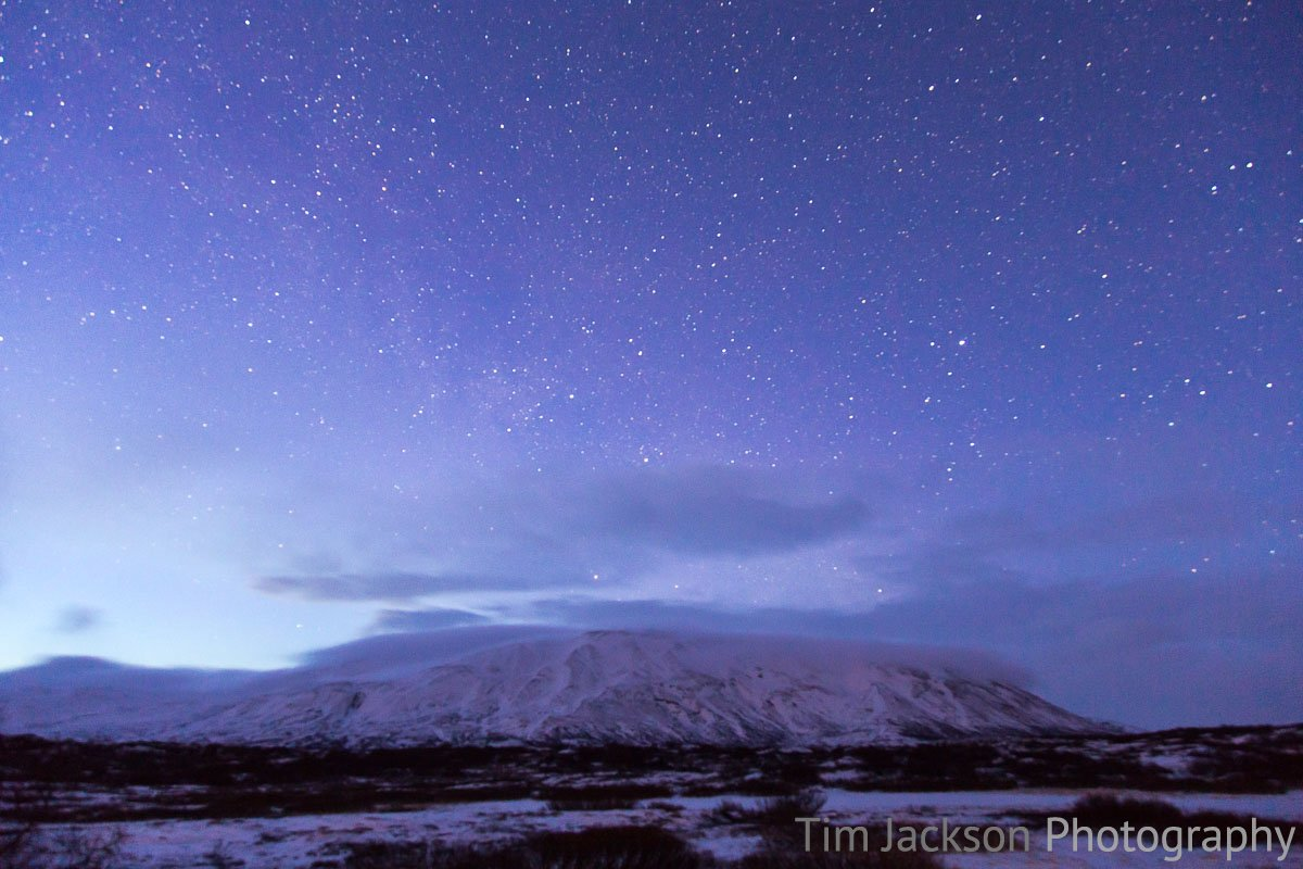Icelandic Starscape Icelandic Starscape Photograph by Tim Jackson