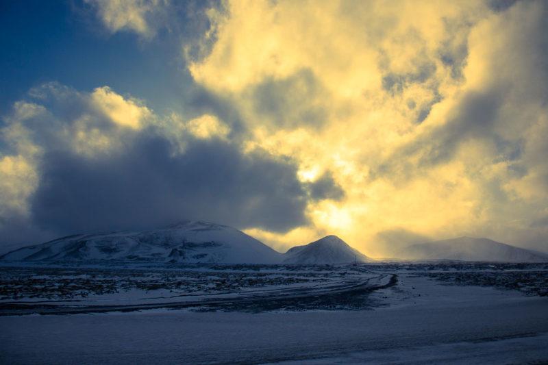Icelandic Sunset Icelandic Sunset Photograph by Tim Jackson