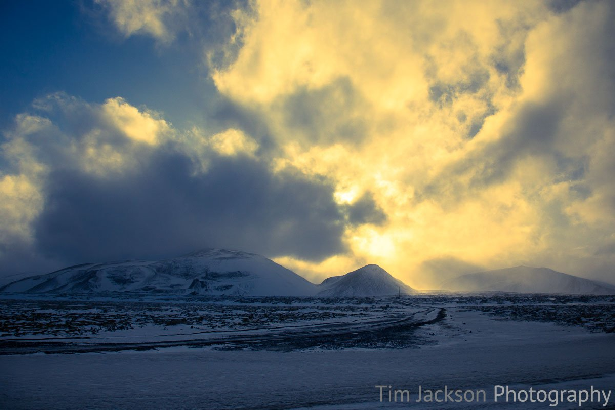 Iceland Trip Icelandic Sunset Photograph by Tim Jackson