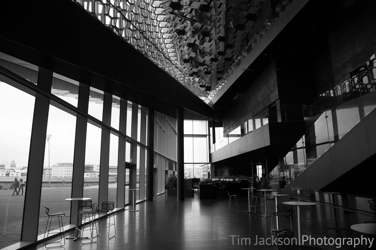 Iceland Trip Inside The Harpa Photograph by Tim Jackson
