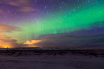 Iceland Trip Northern Lights 1 Photograph by Tim Jackson