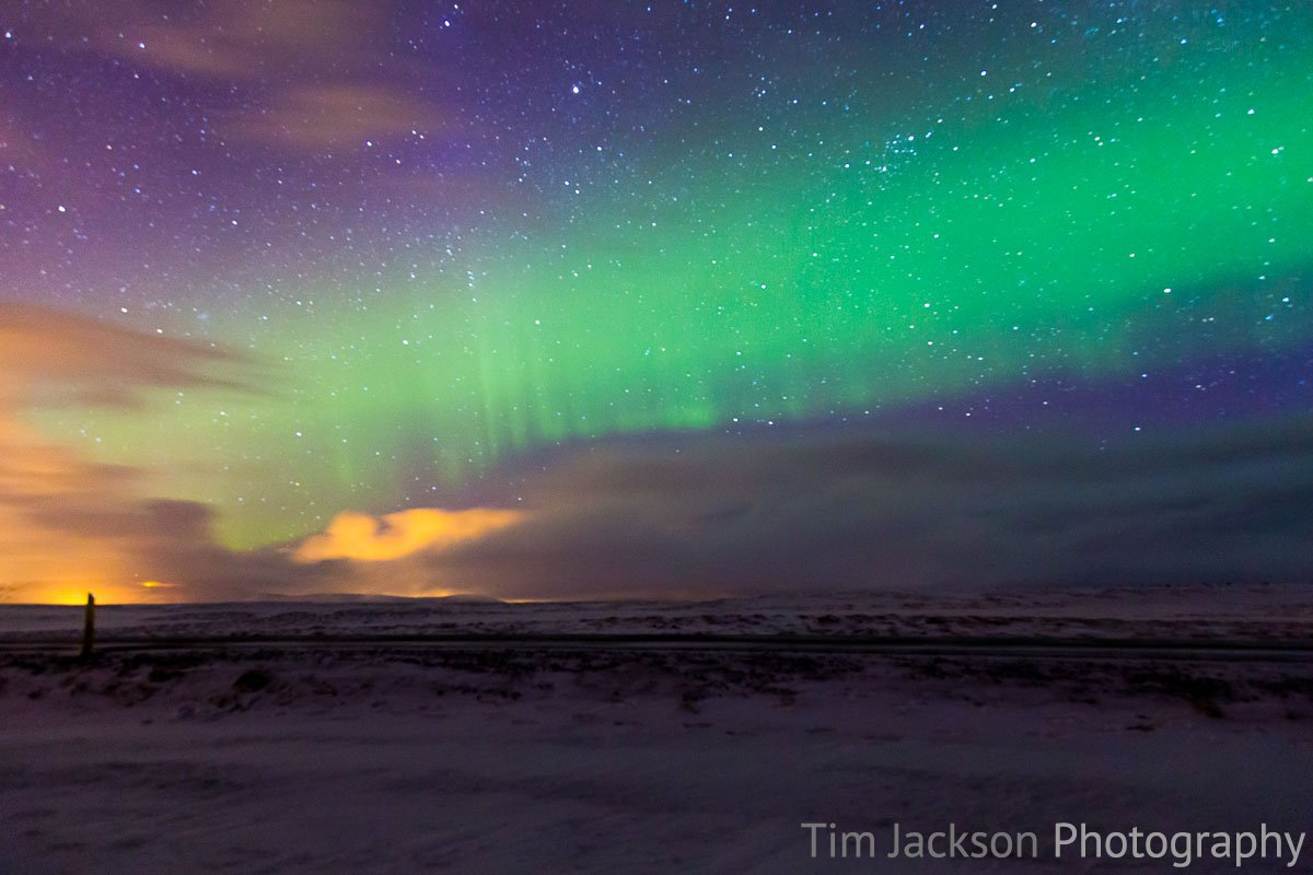 Northern Lights 1 Photograph by Tim Jackson