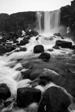 Iceland Trip Oxararfoss Photograph by Tim Jackson
