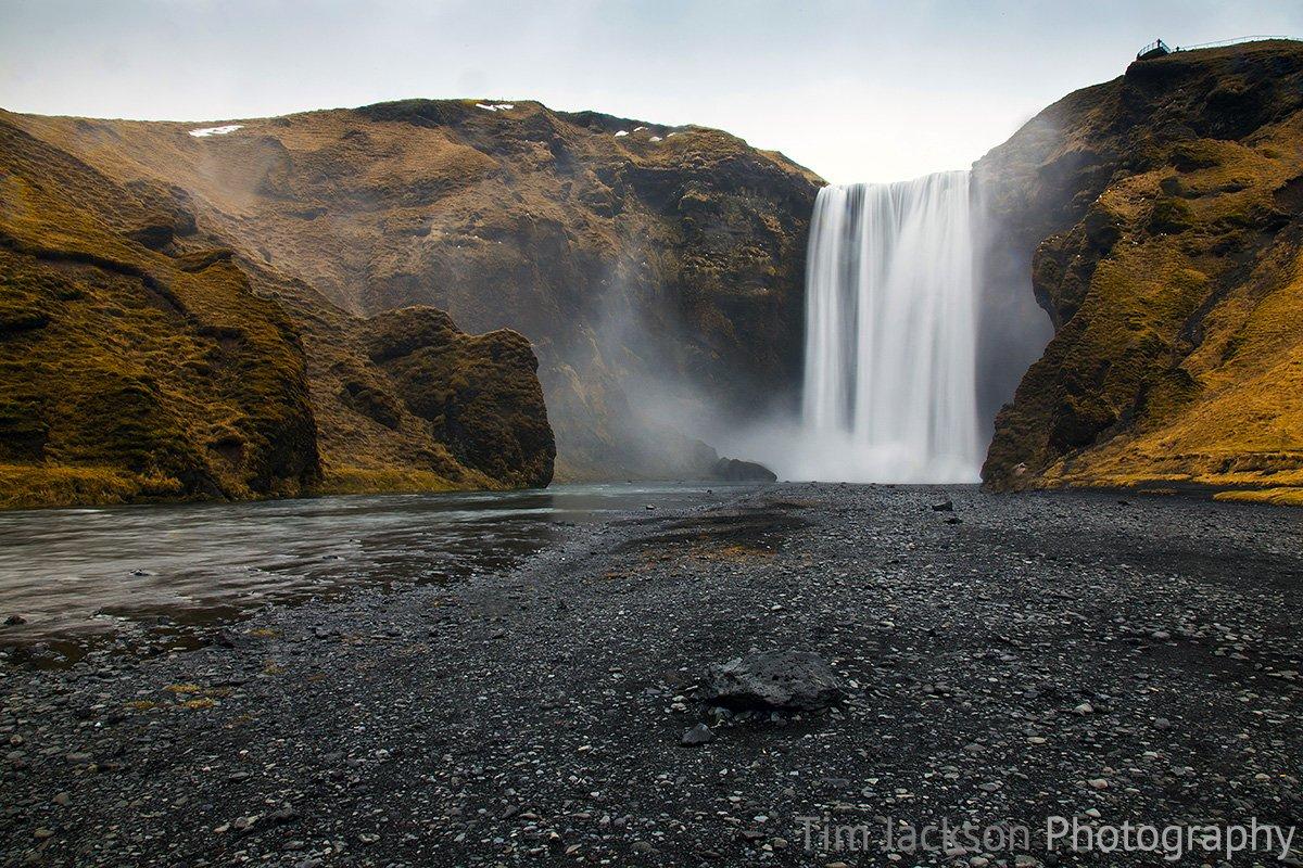 Iceland Trip Skogafoss Photograph by Tim Jackson