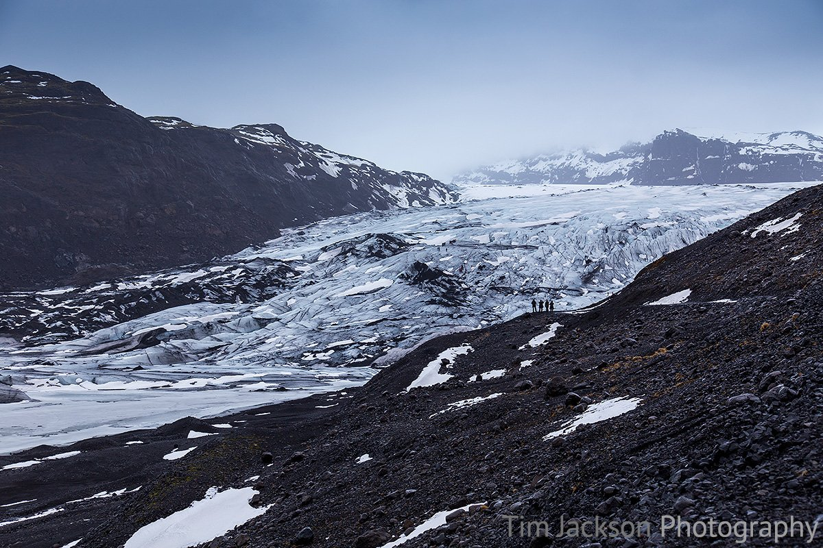 Iceland Trip Solheimajokull Glacier Photograph by Tim Jackson