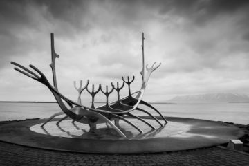 Iceland Trip Sun Voyager Photograph by Tim Jackson