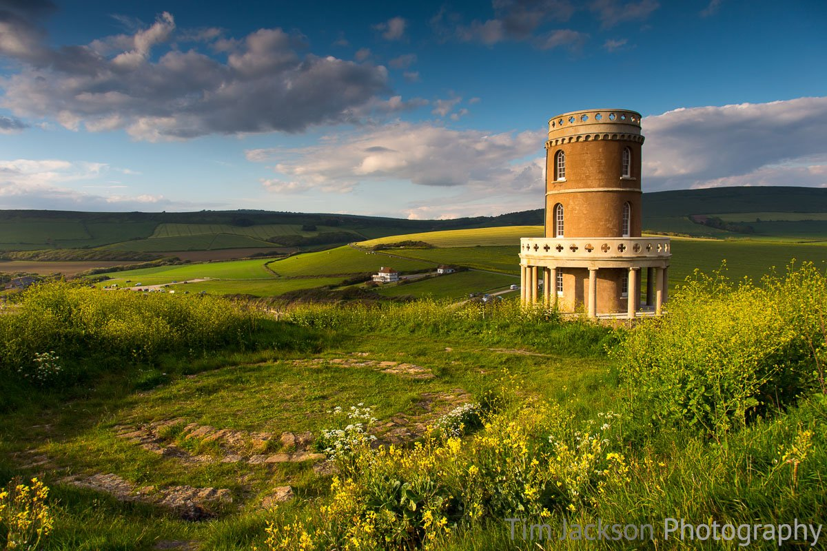 Kimmeridge Tower Photograph by Tim Jackson