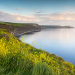 Walk from Kingston to Kimmeridge Tranquility Bay Photograph by Tim Jackson