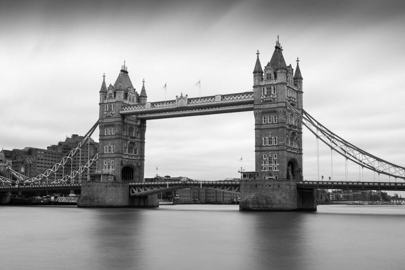 London Bridge Black and White London Bridge Black and White Photograph by Tim Jackson
