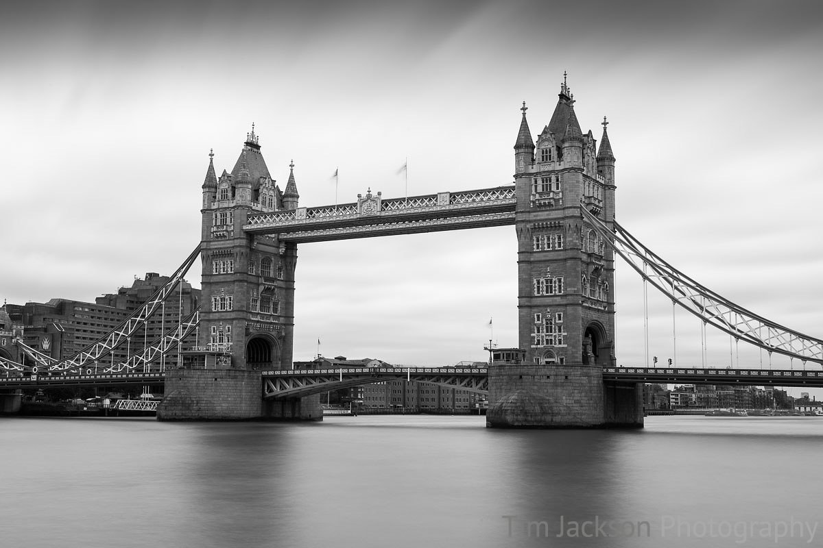 London Bridge Black and White London Bridge Black and White Photograph by Tim Jackson