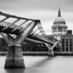 Rainy Day Photography in London St Pauls Cathedral Photograph by Tim Jackson