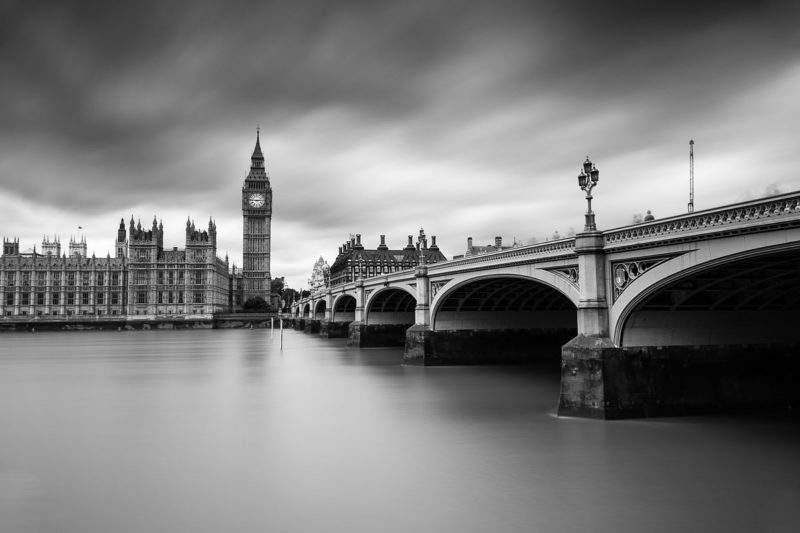 Westminster Bridge Black and White Westminster Bridge Black and White Photograph by Tim Jackson