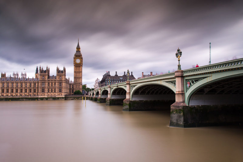 Westminster Bridge Overcast Westminster Bridge Overcast Photograph by Tim Jackson