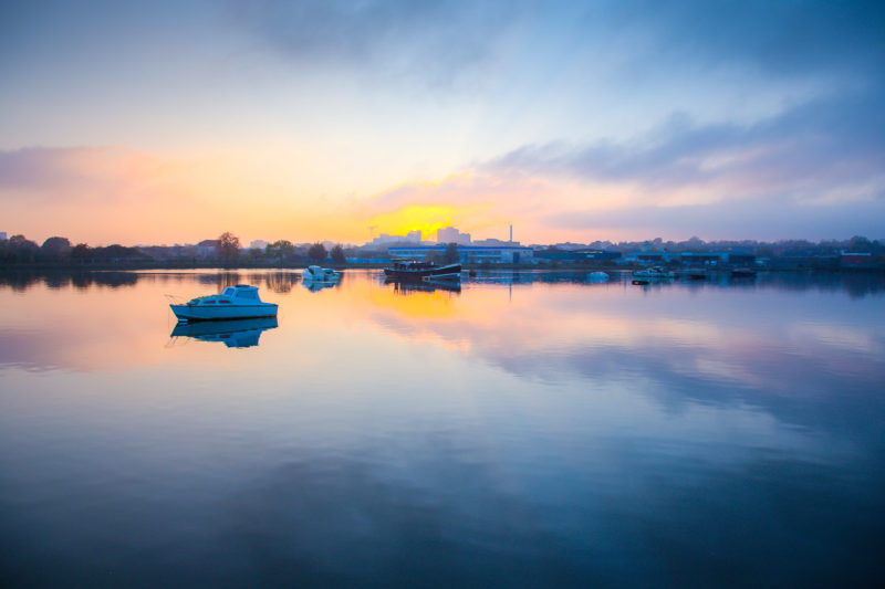 Sunset Over Southampton Sunset Over Southampton Photograph by Tim Jackson