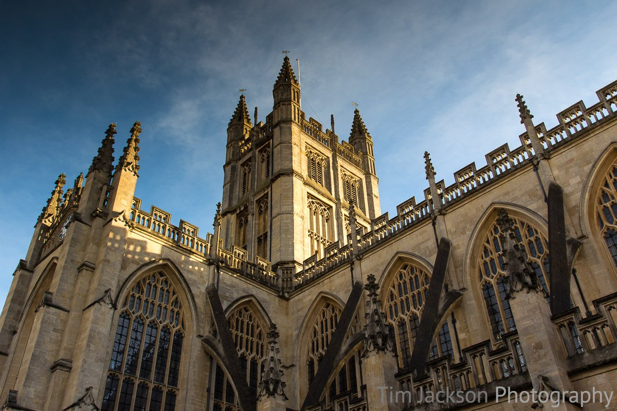 Bath Abbey Photograph by Tim Jackson