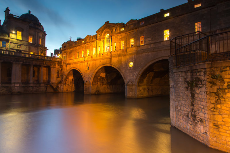 Pulteney Bridge at Night Pulteney Bridge at Night Photograph by Tim Jackson