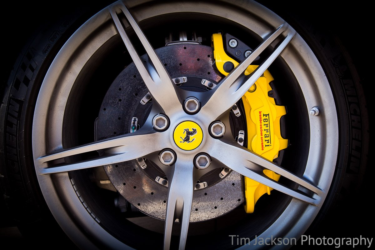 Horsham Piazza Italia 2016 Ferrari Wheel Photograph by Tim Jackson