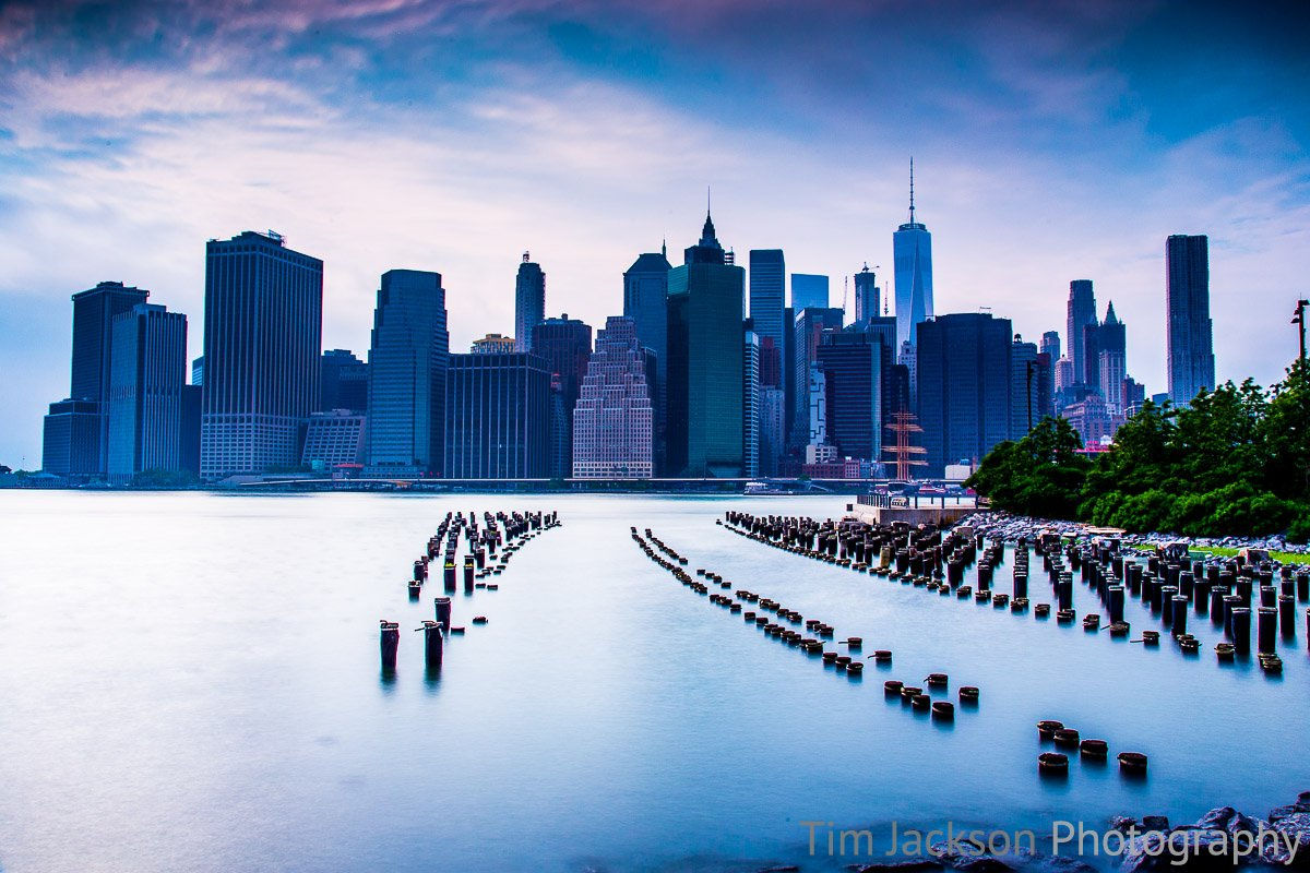 Brooklyn Pier Pilings Brooklyn Pier Pilings Photograph by Tim Jackson