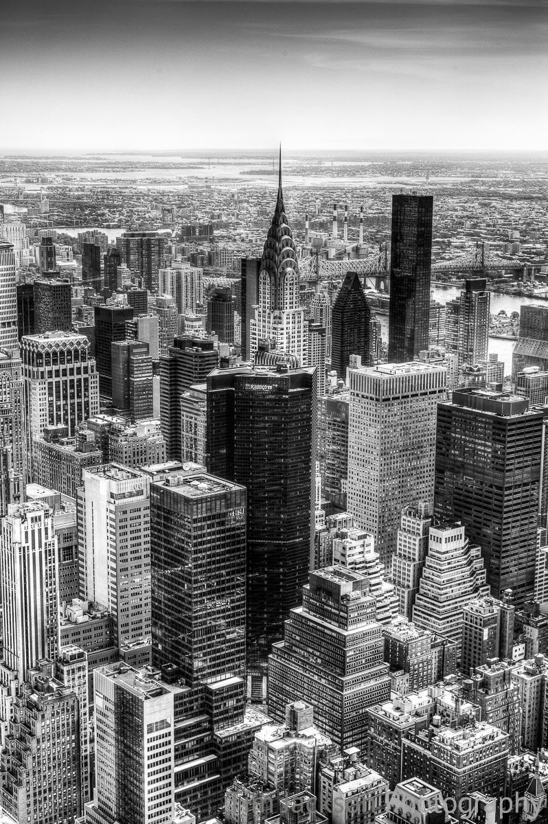 Chrysler Building Black and White Chrysler Building Black and White Photograph by Tim Jackson