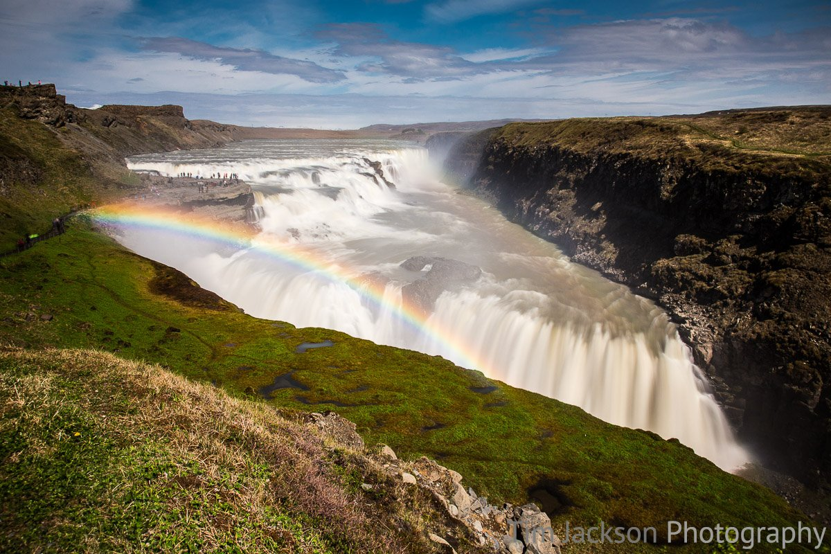 Gullfoss Summer Gullfoss Summer Photograph by Tim Jackson