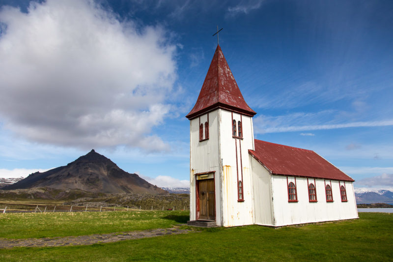 Icelandic Church Icelandic Church Photograph by Tim Jackson