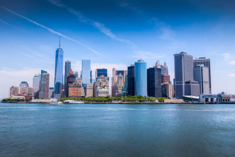 Manhattan Skyline Manhattan Skyline Photograph by Tim Jackson