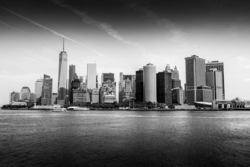 Manhattan Skyline Black and White Manhattan Skyline Black and White Photograph by Tim Jackson